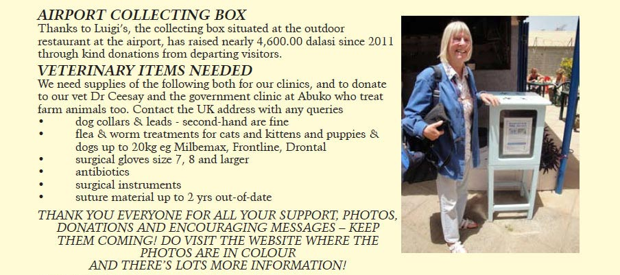 GambiCats 2012 january to june newsletter